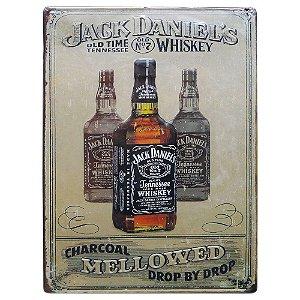 Placa de Metal Jack Daniels