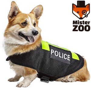 Colete para PET Police - Mister Zoo