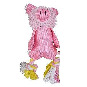 Brinquedo p/ PET Porco Rosa - Mister Zoo