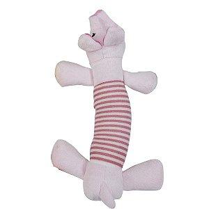 Brinquedo de Pelúcia Porco  - Mister Zoo