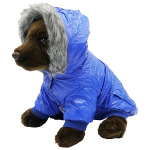 Jaqueta de Nylon com Capuz pra PET