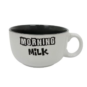 Caneca para Cereais Morning Milk Black