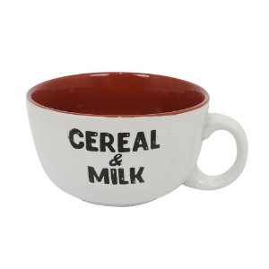 Caneca para Cereais Cereal & Milk Vermelho