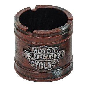 Cinzeiro Garage Harley Vermelho