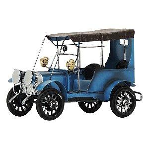 Miniatura Carro Antigo Azul em Metal