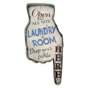 Placa de LED Laundry Room