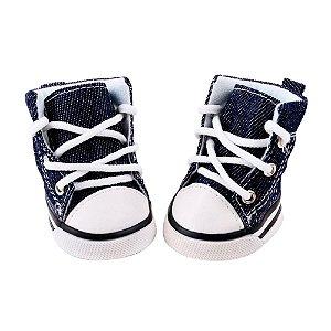 Tênis Sapato All Star Jeans para PET 4 Peças