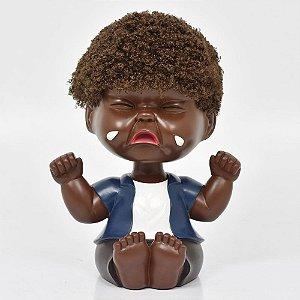 Cofre Bebê Negro Chorão Grande
