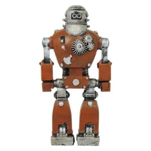 Enfeite Robô Laranja