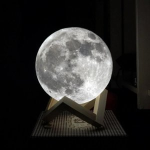 Luminária de Mesa Lua Cheia