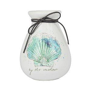 Vaso de Cerâmica By the Seashore 18x12cm