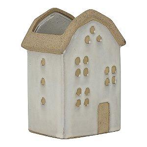 Vaso de Cerâmica House Branco MOD.4