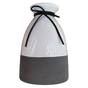 Vaso de Cerâmica Minimal Grande