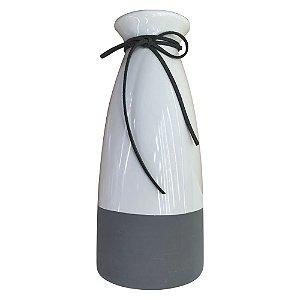 Vaso de Cerâmica Garrafa Minimal