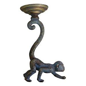 Porta Vela Animal Monkey