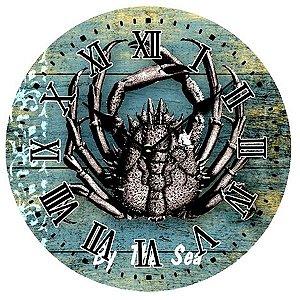 Relógio de Madeira Lagosta 29cm