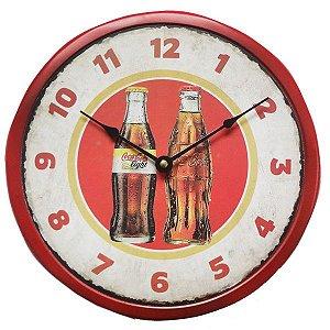 Relógio de Parede Coca-cola