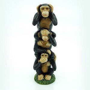 Enfeite Macacos Em Pé Grande