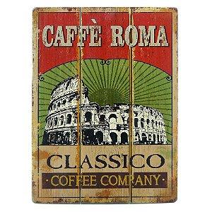 Quadro Café Roma