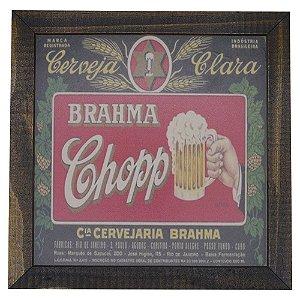 Quadro Cerveja Brahma Chopp