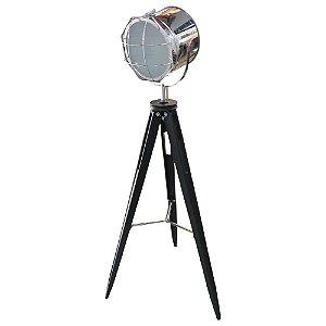Luminária Spot Prata Grande