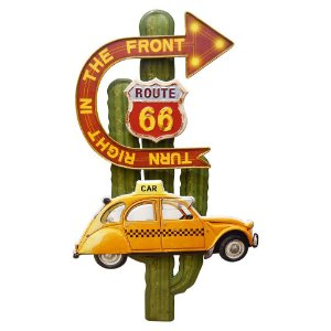 Enfeite Táxi Route 66