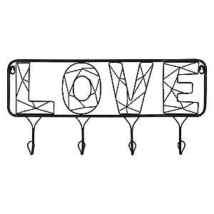 Cabideiro Aramado Love