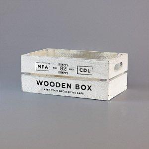 Caixa Wooden Box Média