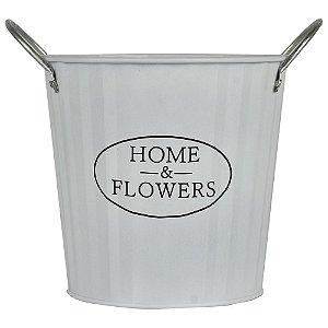 VASO BRANCO HOME & FLOWERS