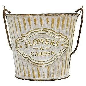 Vaso Balde Flowers & Garden G