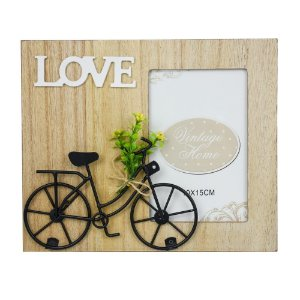 Porta Retrato Love Bike