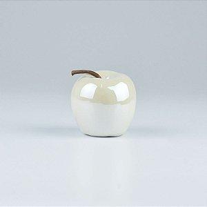Enfeite Apple Branca