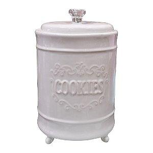Pote de Cerâmica Cookies