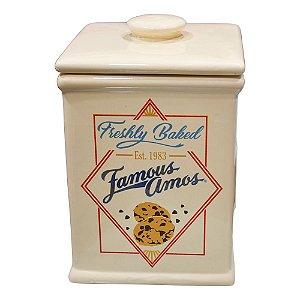Pote Cookie Vintage em Cerâmica