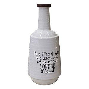 Vaso Garrafa London em Cerâmica