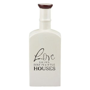 Vaso Love House Branco