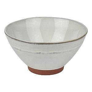Bowl Cerâmica Tigela Branca