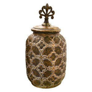 Vaso em Cerâmica Grego M