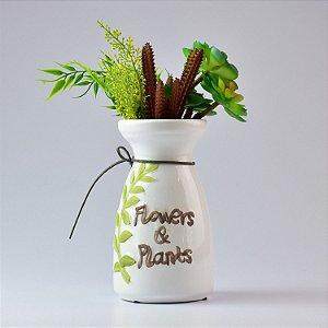 Vaso Flowers & Plants Branco