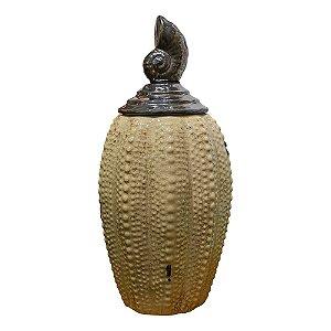 Vaso Concha em Cerâmica