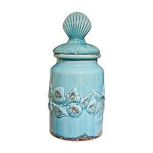 Pote Concha em Cerâmica