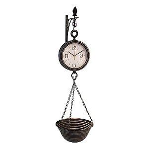 Relógio Balança em Metal