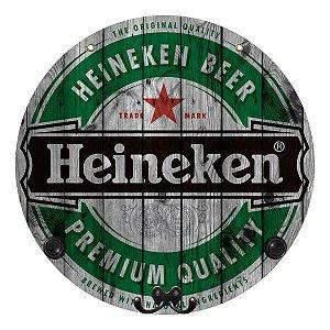Placa Heineken com Cabideiro