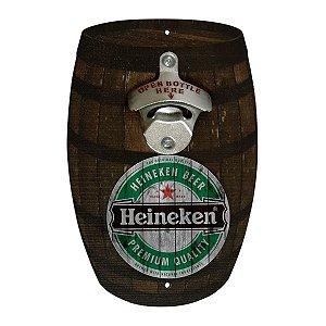 Abridor Barril Heineken