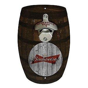 Abridor Barril Budweiser