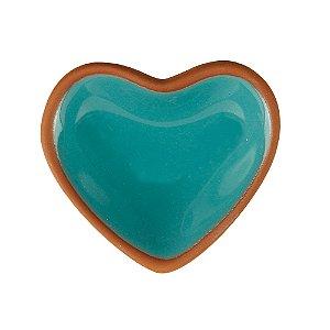 Porta Anéis Coração Verde