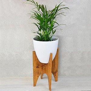 Vaso de Canto Minimalista Wood