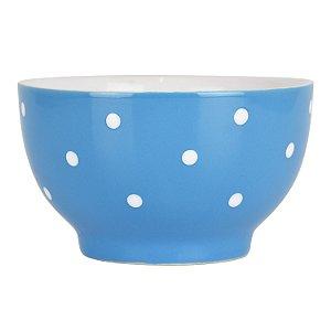 Bowl Azul Pontilhado em Cerâmica