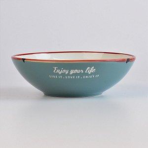 Bowl Enjoy Your Life Verde