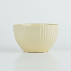 Bowl Lines Bege em Cerâmica